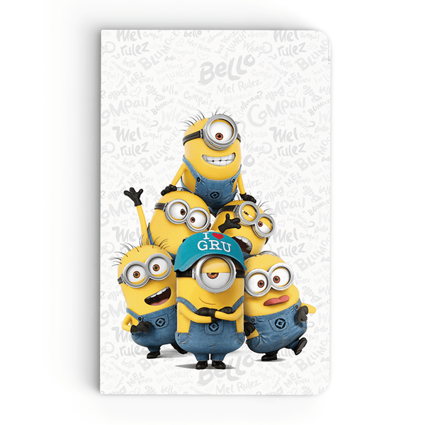 Thin Notebook - Minion Family - Despicable Me/Minions