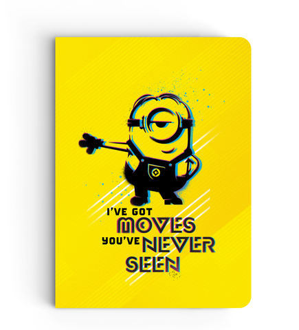 Notebook - I've Got Moves - Despicable Me/Minion