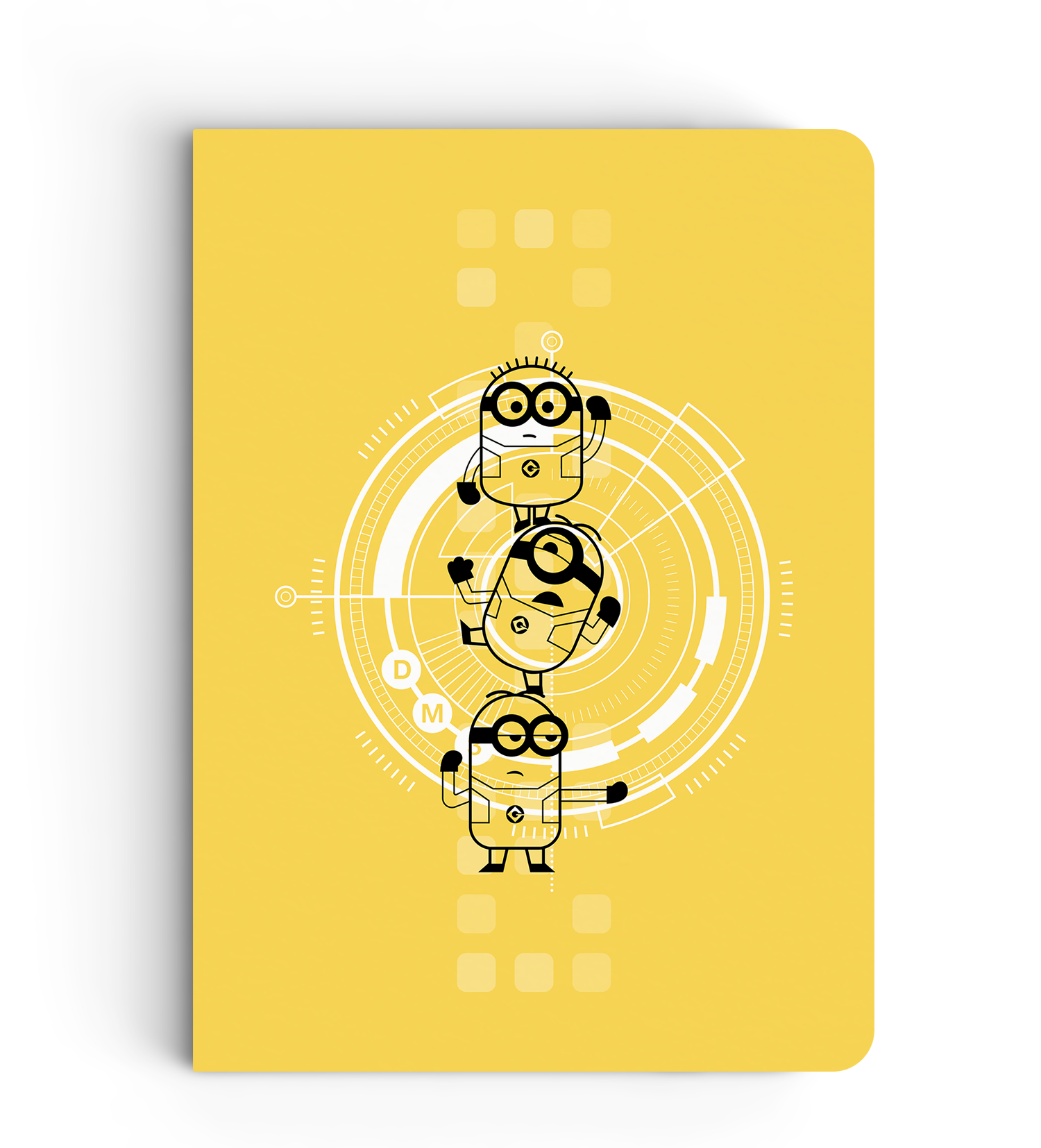 Flapbook Minions Flat Stack Despicable Meminion Inkflap Store