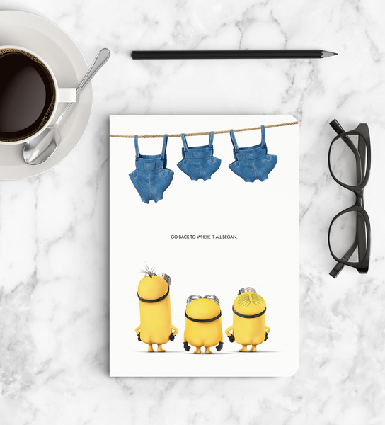Notebook - Pants Out - Despicable Me/Minions
