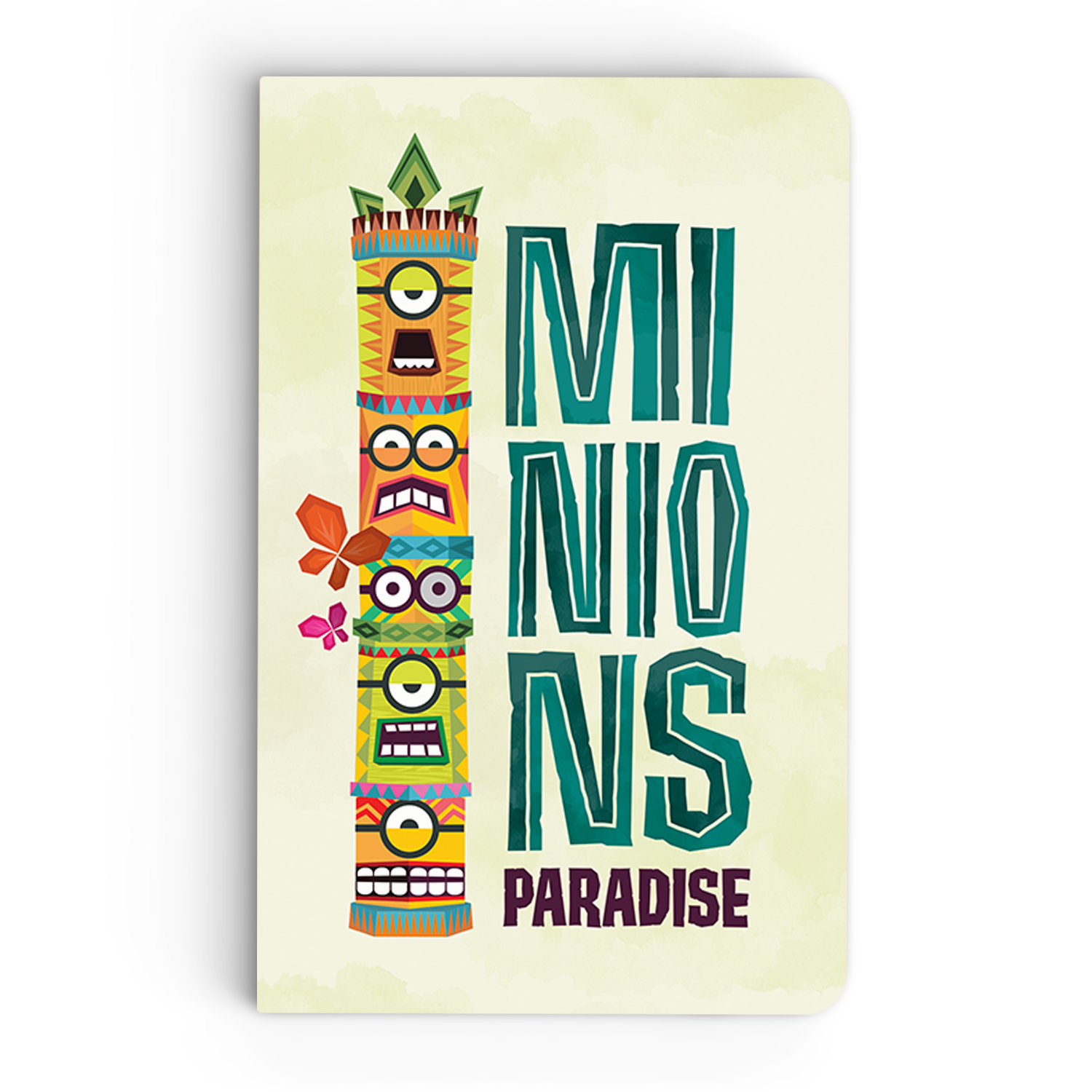 Thin Notebook - Minions Paradise - Despicable Me/Minions