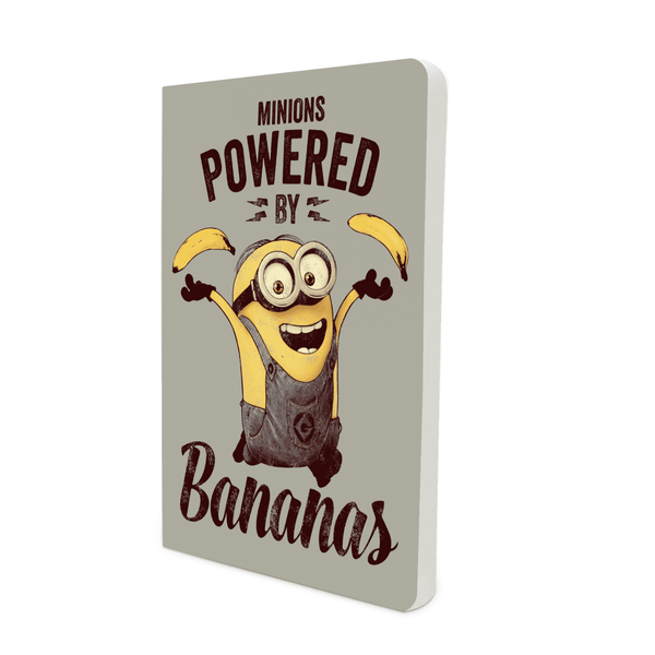 Notebook - Minions Powered by Banana - Despicable Me/Minions