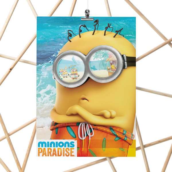 A3 Poster - Minions Vacation - Despicable Me/Minions