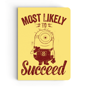 Notebook - Most Likely to Succeed - Despicable Me/Minions