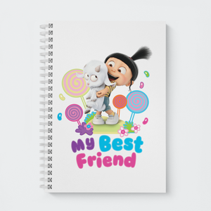 Wiro Notebook - My Best Friend - Despicable Me/Minions