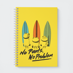 Wiro Notebook - No Pants No Problem - Despicable Me/Minions