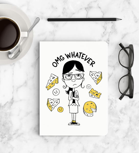 Notebook - OMG Whatever - Despicable Me/Minion