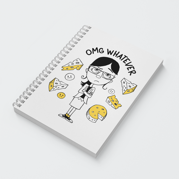 Wiro Notebook - OMG Whatever - Despicable Me/Minions
