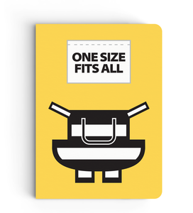 Notebook - One Size Fits All (Yellow) - Despicable Me/Minions