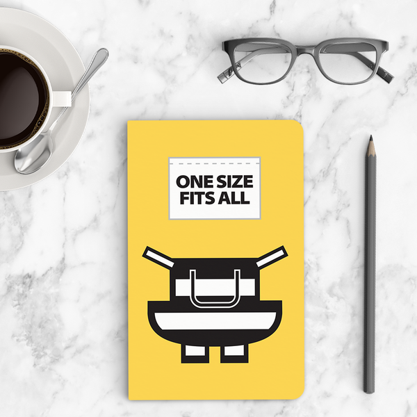Thin Notebook - One Size Fits All (Yellow) - Despicable Me/Minions