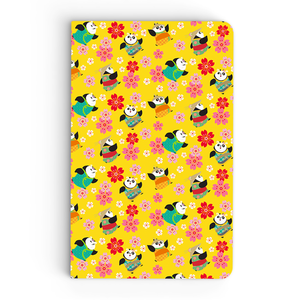 Thin Notebook - Little Pandas - Kung Fu Panda