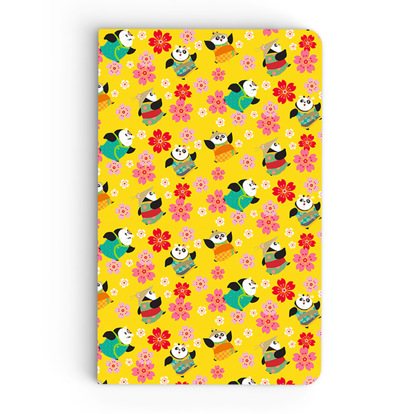 Flapbook Thin - Little Pandas - Kung Fu Panda