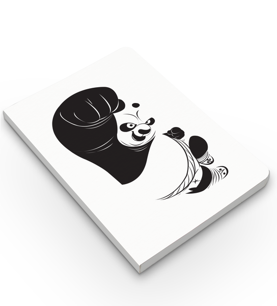Notebook - Panda Power - Kung Fu Panda