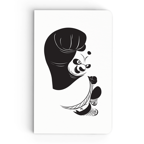 Thin Notebook - Panda Power - Kung Fu Panda