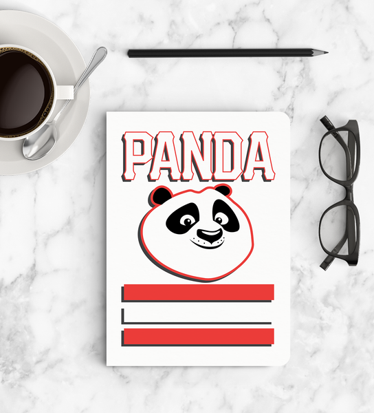 Notebook - Panda Smiles - Kung Fu Panda