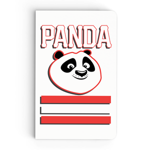 Thin Notebook - Panda Smiles - Kung Fu Panda