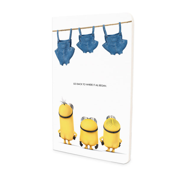 Flapbook Thin - Pants Out - Despicable Me/Minions