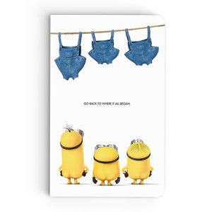 Thin Notebook - Pants Out - Despicable Me/Minions