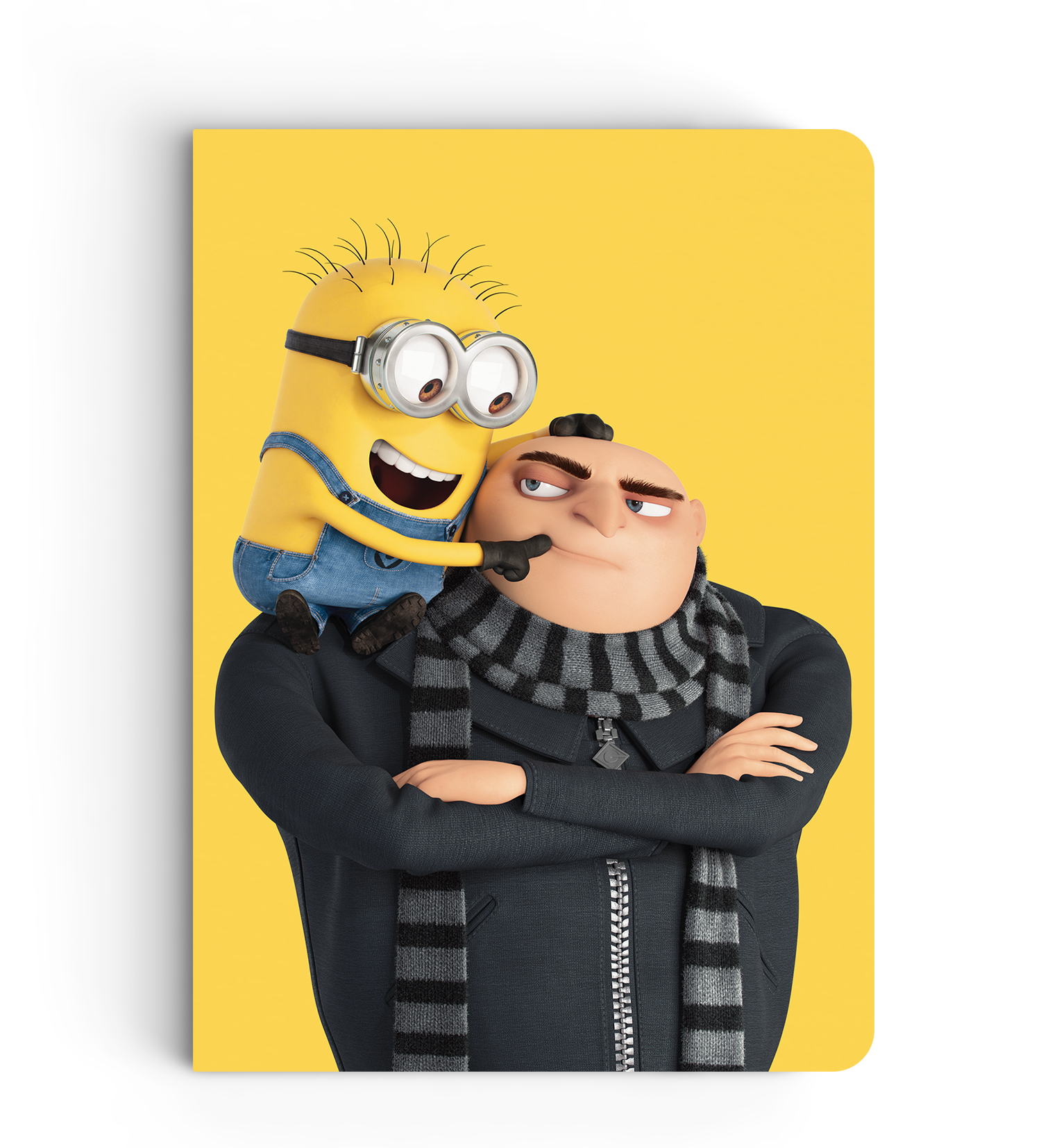 Notebook - Phil & Gru - Despicable Me/Minions
