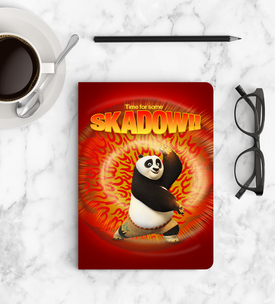 Notebook - SKADOW - Kung Fu Panda
