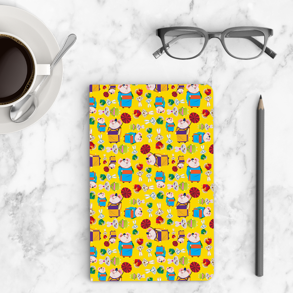 Thin Notebook - Shifu Pattern - Kung Fu Panda