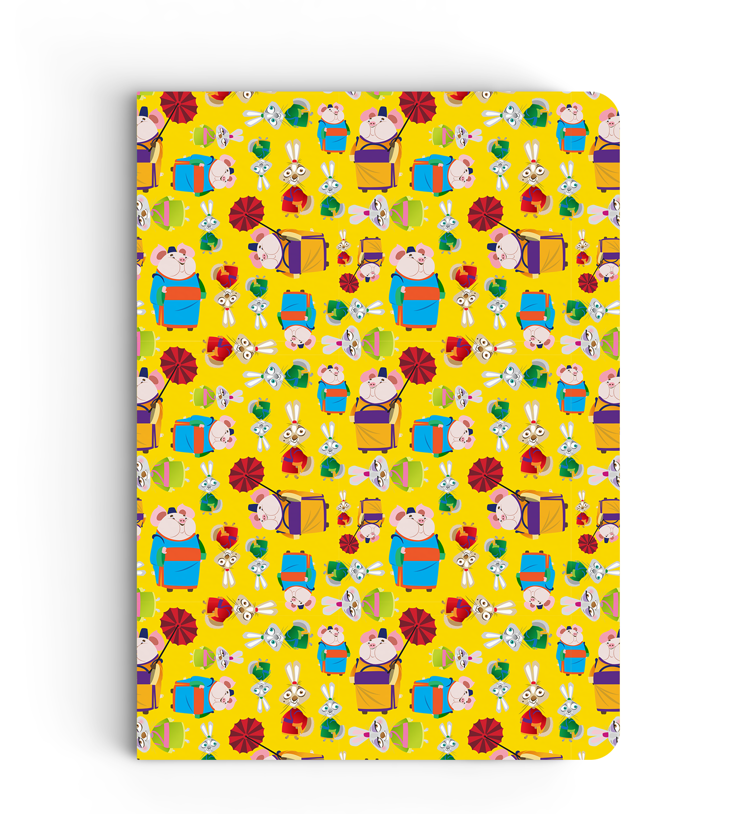 Notebook - Shifu Pattern - Kung Fu Panda