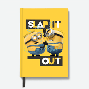 Hardbound Notebook - Slap It Out - Despicable Me/Minions