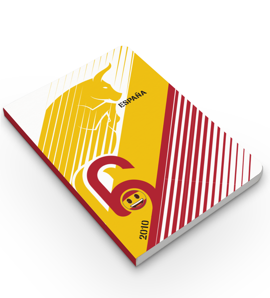 Limited Edition Notebook - Spain - Emoji Soccer Edition