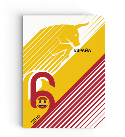 Flapbook Limited Edition - Spain - Emoji Soccer Edition