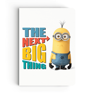 Notebook - The Next Big Thing - Despicable Me/Minions
