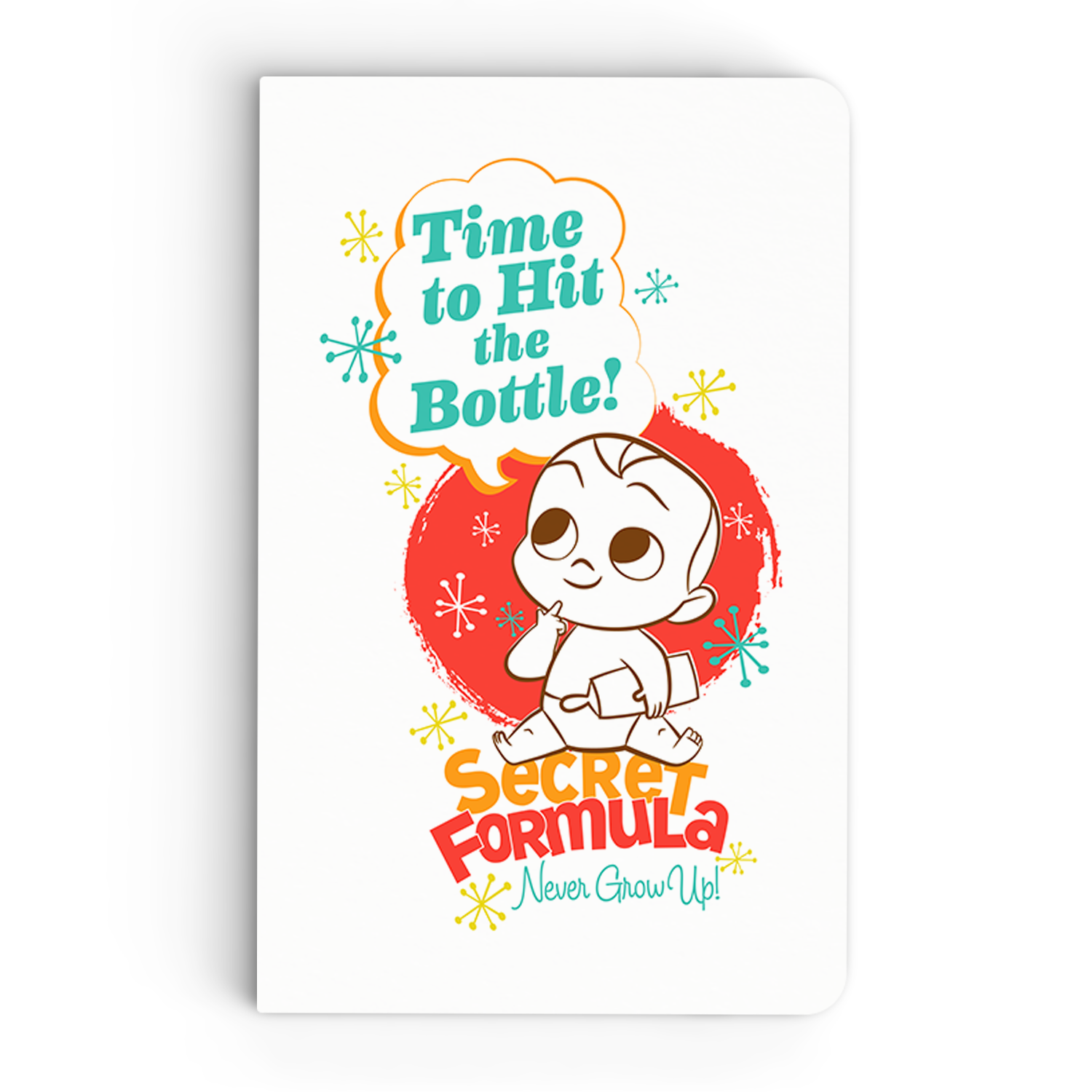 Thin Notebook - Time to Hit Bottle - Boss Baby