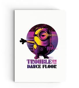 Notebook - Trouble on the Dance Floor - Despicable Me/Minions