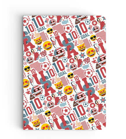 Limited Edition Notebook - USA - Emoji Soccer Edition