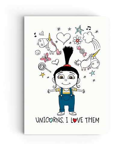 Notebook - Agnes - Despicable Me/Minion