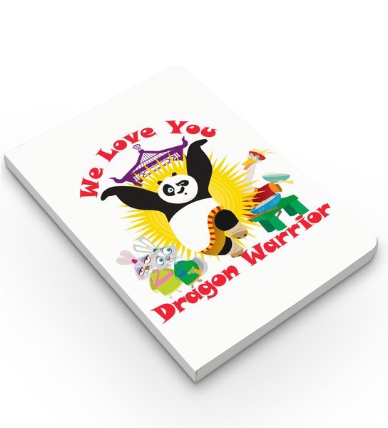 Notebook - We Love You - Kung Fu Panda