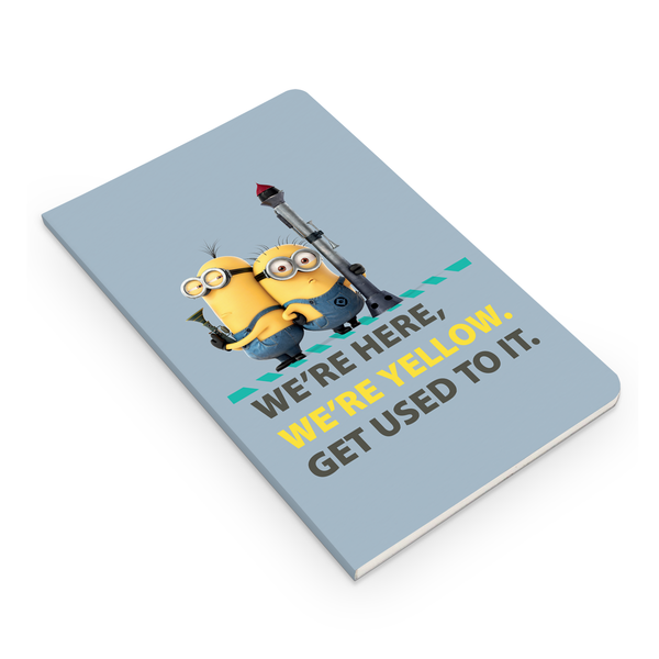 Thin Notebook - We're Yellow - Despicable Me/Minions