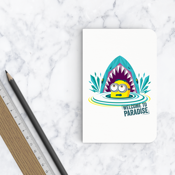 Flapbook Mini - Welcome to Paradise (Flat) - Despicable Me/Minions