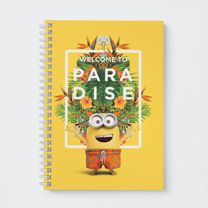 Wiro Notebook - Welcome to Paradise - Despicable Me/Minions