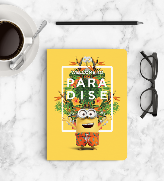 Notebook - Welcome to Paradise - Despicable Me/Minions
