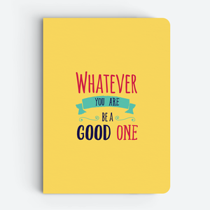 yellow quote notebook