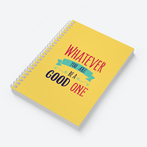 Whatever (Yellow) - Wiro Quote Notebooks