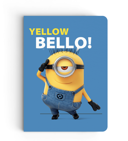 Notebook - Yellow Bello - Despicable Me/Minion
