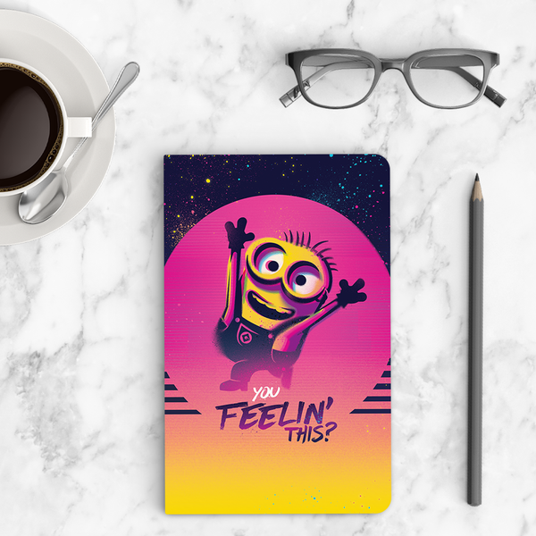 Thin Notebook - You Feelin' This? - Despicable Me/Minions