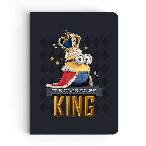 Notebook - It's Good To Be King - Despicable Me/Minions