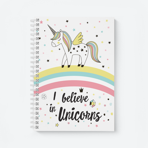 I Believe in Unicorn - Wiro Notebooks