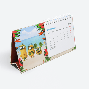 Wiro Desk Calendar - Expect the Unexpected Calendar 2019  - Despicable Me/Minions