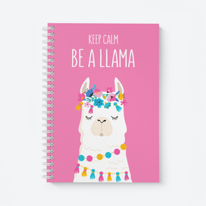 Be a Calm Llama - Wiro Notebook