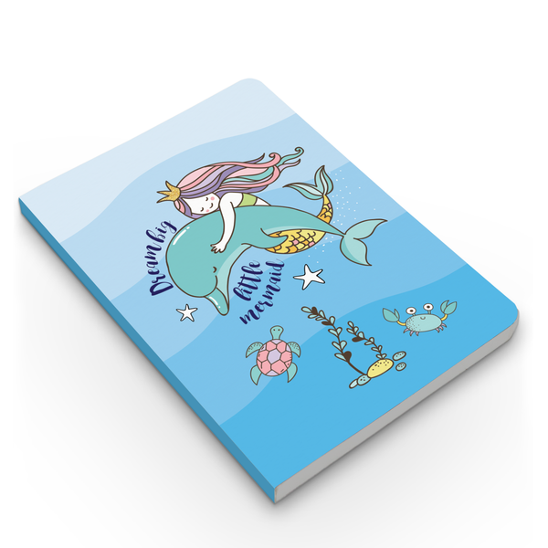 Dream Big & Narwhal Combo - Pack of 2 - Softbound Notebooks