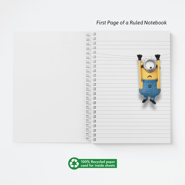 Wiro Notebook - M for Minions - Despicable Me/Minions