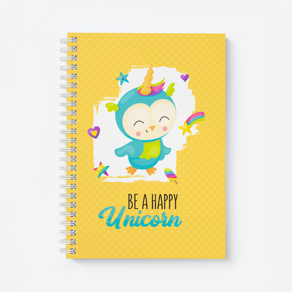 Happy Unicorn - Wiro Notebook